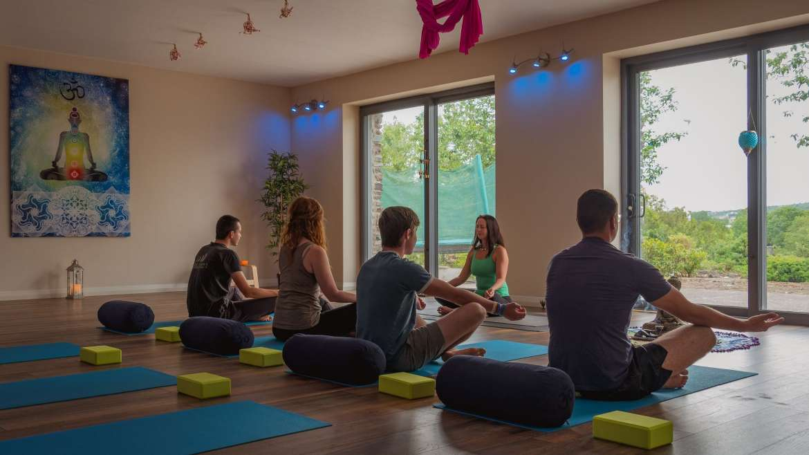How to Survive Teaching Your First Yoga Class