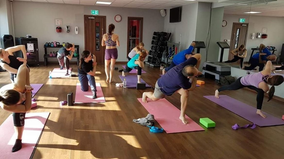 Yoga class in Bishop's Stortford