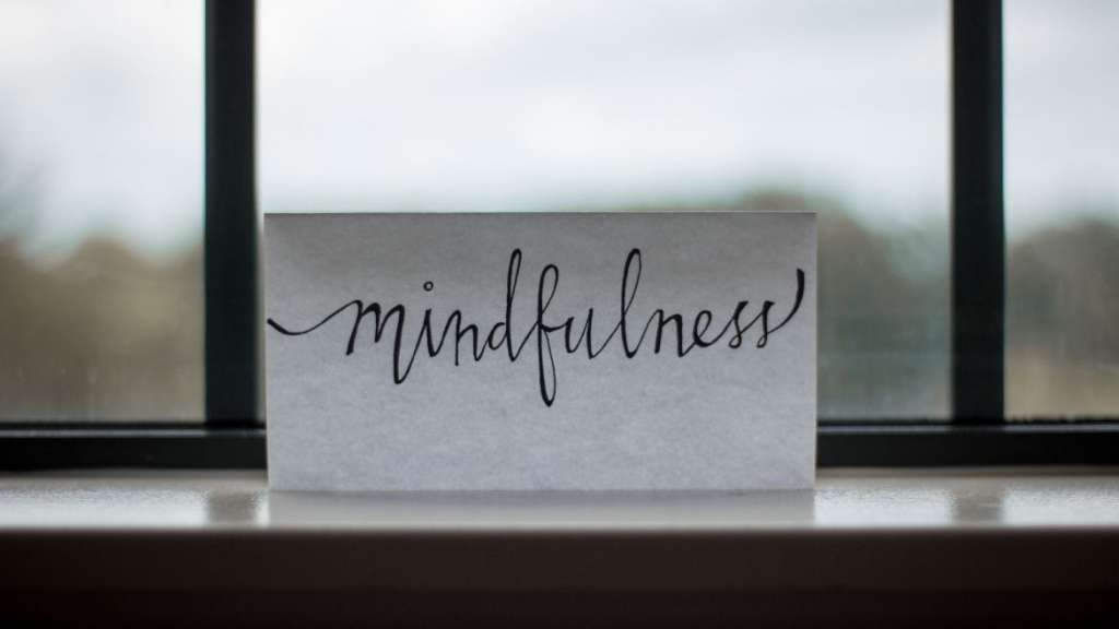 Mindfulness card